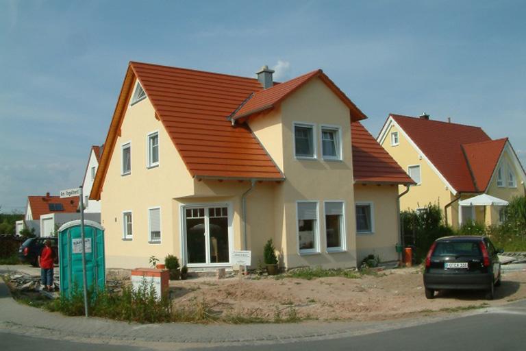 Einfamilienhaus-Hausen